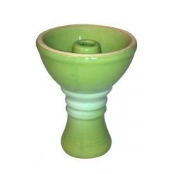 Cybuch do shishy Kaya zielono biały