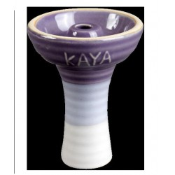 Cybuch do shishy Phunnel Kaya fioletowo biały