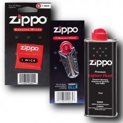 Zippo Benzyna Knot Kamienie
