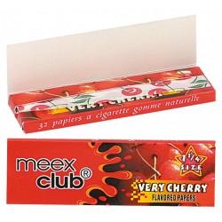 Bibułki Meex aromatyzowane cherry