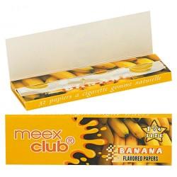 Bibułki Meex aromatyzowane banan