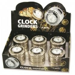 Młynek Grinder metalowy Zegarek 4 częściowy