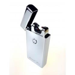 Zapalniczka USB plazmowa 2 Łuki silver