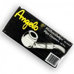 Wyciory do fajki tradycyjnej Angelo 100szt białe
