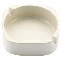 Popielniczka ceramiczna 8cm biała