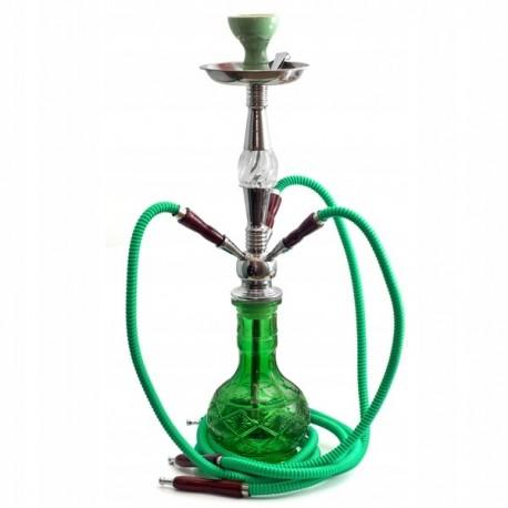 Shisha Oasis Thara 3 węże 63cm zielona