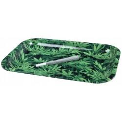 Tacka do skręcania papierosów Weed Leaf duża