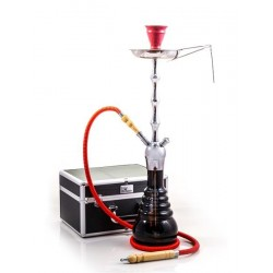 Shisha Royal Chrome Red + kuferek