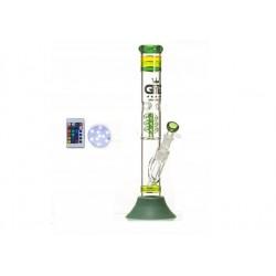 Grace Glass GG Green Beaker LED 42cm