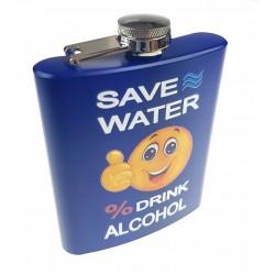 Piersiówka Save Water Drink Alcohol 210ml