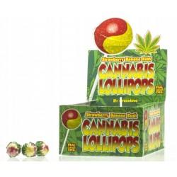 Lizak Cannabis olejek konopny Truskawka Banan