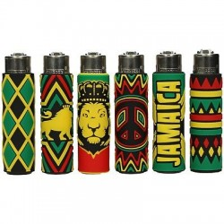 Zapalniczka Clipper Pop Covers Jamaica 2