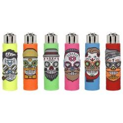 Zapalniczka Clipper Pop Covers Skulls 3
