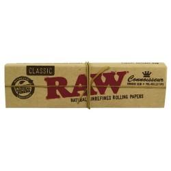 Bibułki RAW KS Slim plus skręcone filtry