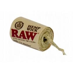 Naturalny Knot Konopny Hemp Wick RAW 3m