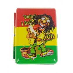 Papierośnica etui na papierosy Rasta