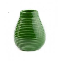 Matero ceramiczne szkliwo 350ml zielone
