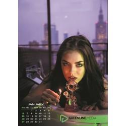 Kalendarz 2019 Piękne Panie i Kwiaty