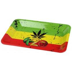 Tacka do skręcania papierosów Rasta 420