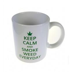 Kubek ceramiczny 330ml Keep calm z logo