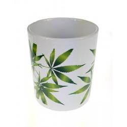 Kubek ceramiczny 330ml Liście