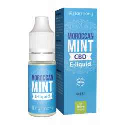 Liquid Harmony Moroccan Mint 10ml 100mg CBD