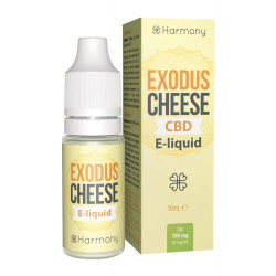 Liquid Harmony exodus cheese 10ml 100mg CBD