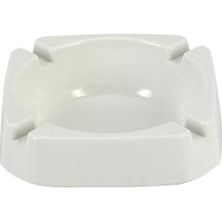 Popielniczka plastik biała 9cm