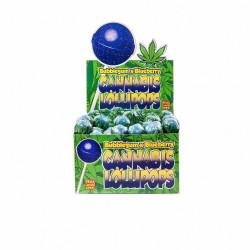 Lizak Cannabis olejek konopny Blueberry