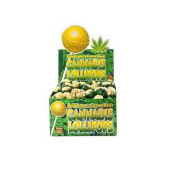 Lizak Cannabis olejek konopny Lemon Haze