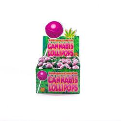 Lizak Cannabis olejek konopny Candy Kush