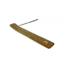 Podstawka drewniana na kadzidełka 25cm