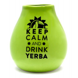 Matero Green z logo Keep Calm