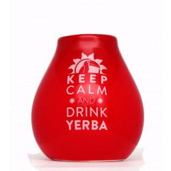 Matero Red z logo Keep Calm