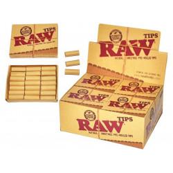 Filtry RAW Prerolled skręcone filtry