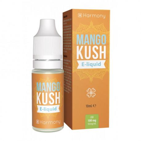 Liquid Harmony Mango Kush 10ml 100mg CBD
