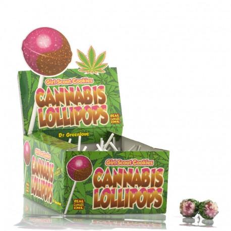 Lizak Cannabis Girl Scout Cookies