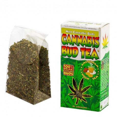 Herbata Susz konopny CBD Hemp Buds Mint