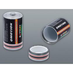 Opakowanie schowek w kształcie baterii