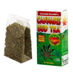 Herbata Susz konopny CBD Hemp Buds Strawberry