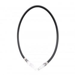 Wąż Silikonowy Czarny 110cm