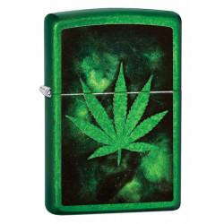Zapalniczka Zippo benzynowa Green Leaf Design