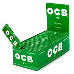 Bibułki OCB zielone box 50 szt