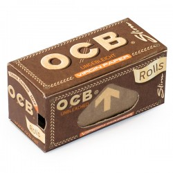 Bibułki OCB Virgin Brown Slim Rolls