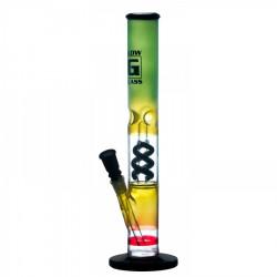 Fajka wodna ICE Bongo Glow Glass 40cm