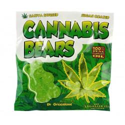 Żelki Bears z ekstraktem z konopii z CBD
