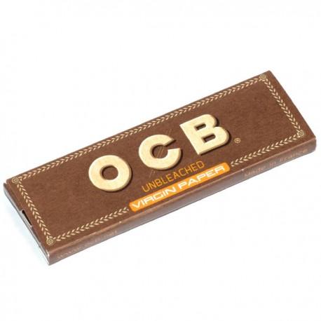 Bibułki OCB Virgin Brown single 50 bibułek