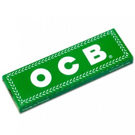 Bibułki OCB zielone 50 bibułek