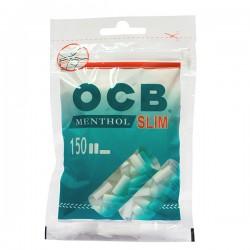 Filtry OCB Slim Menthol fi6 a`150