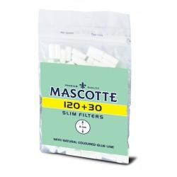 Filtry do papierosów Mascotte slim 150szt
